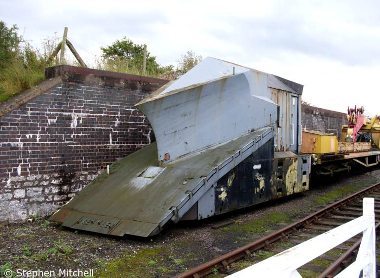Independent Snowplough ADB965197 at the Eden Valley, Warcop, Cumbria